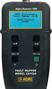 AEMC Cable Testers