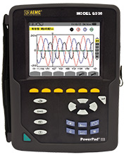 AEMC Three-phase Portable Power Quality Analysers