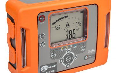 Sonel's Rugged 5kV Insulation Tester feature comparison